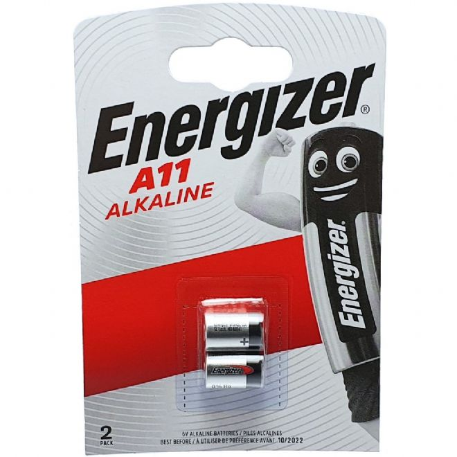 nergizer A11 MN11 6V Alkaline Batteries (Twin Pack) | Battery Buddy
